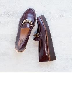 【BONTRE/ボントレ】厚底チェーンローファー[Esmeralda/エスメラルダ 靴]