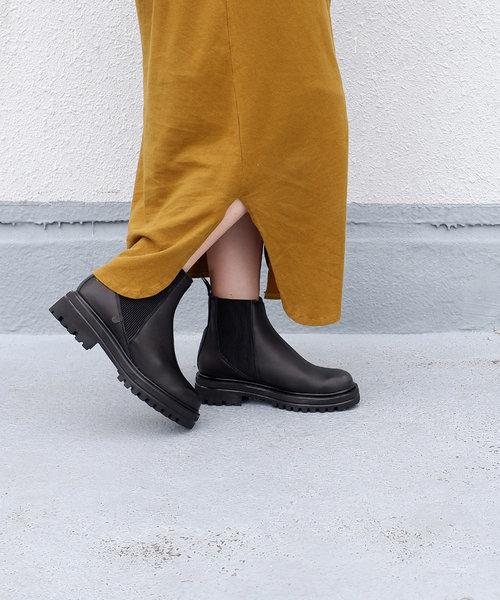 【VERBENAS/ベルベナス】タンクソールサイドゴアブーツ[Esmeralda/エスメラルダ 靴]