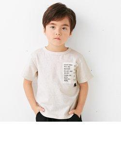 ポケットロゴTシャツ