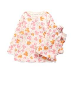 女児鳥総柄かぶりパジャマ
