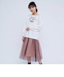 ゆるロンT&チュールスカートセット