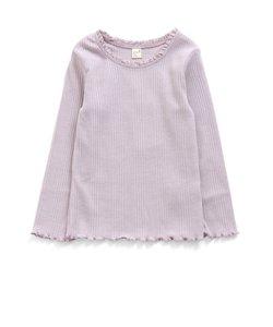衿レースリブTシャツ