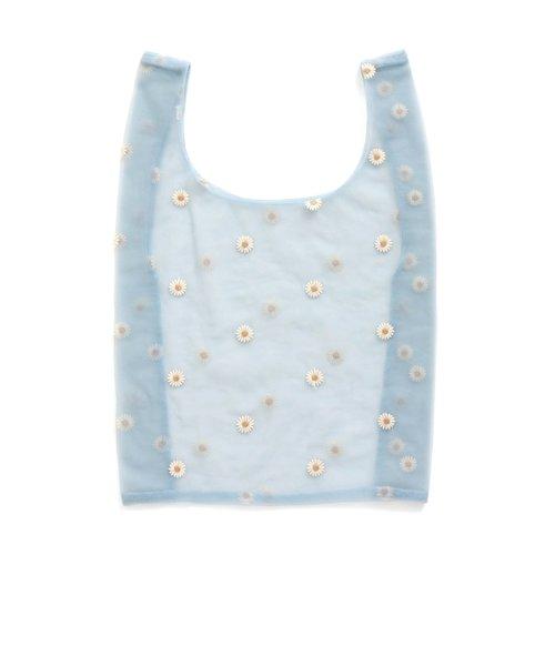 チュール刺繍バッグ