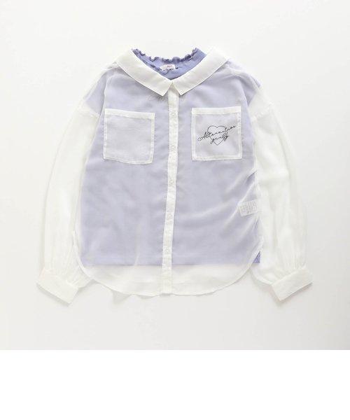 シースルーシャツ&Tセット