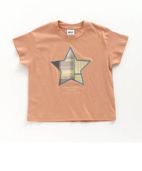 WEB限定 スターパッチワークTシャツ