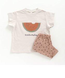 フルーツ柄パジャマ  4分丈