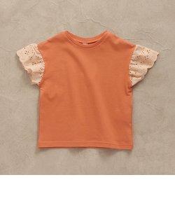 WEB限定 レーススリーブTシャツ