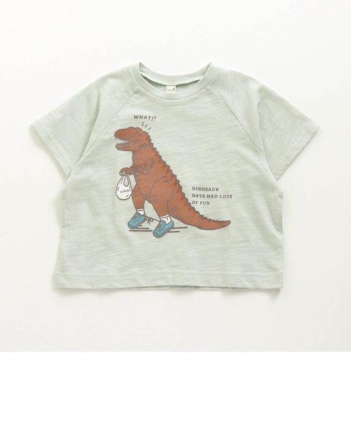 3柄恐竜Tシャツ