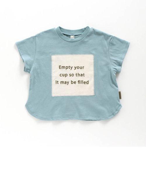 アップリケロゴTシャツ