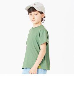 ビッグシルエット無地Tシャツ