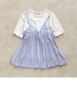 シアーTシャツ&キャミセット