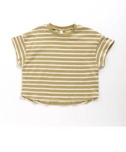 ビッグシルエットボーダーTシャツ