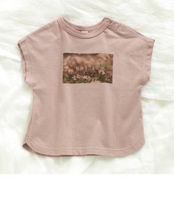 NET別注転写プリントゆったりTシャツ