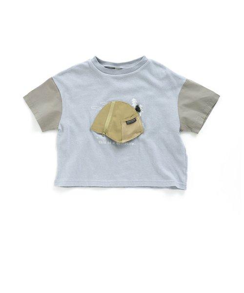 テントモチーフTシャツ