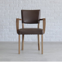BAKER ARM CHAIR ベーカーチェア 肘有 WF-1/PVC OLIVE