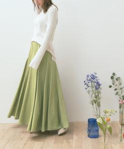ボリュームフレアギャザーロングスカート