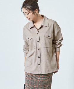 ウエストマークシャツジャケット