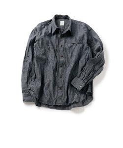 プリーツシャツ