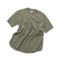 ボタンポケットTシャツ