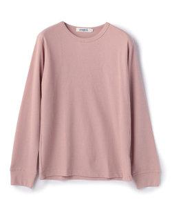 【2017AW商品】クルーネックワッフル生地ロングスリーブTシャツ