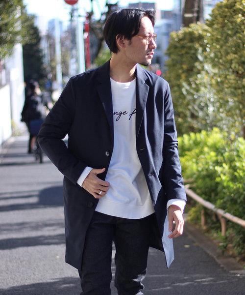 スプリングチェスターコート【スリムシルエット】