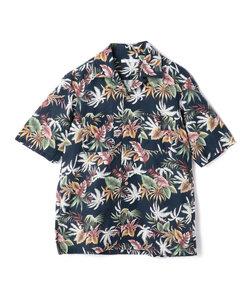 C/Lトロピカルプリントオープンカラーシャツ