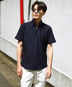 カットソー素材 半袖シャツ/クールビズ