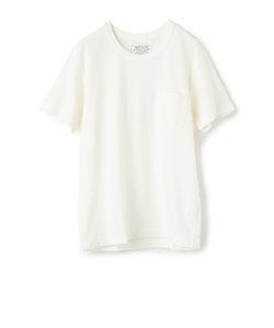 梨地織りポケットTシャツ