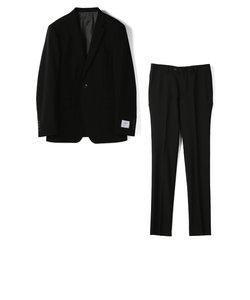 シャドウチェック柄スーツ/NARROWモデル/セットアップ