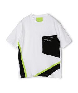切り替えメッシュTシャツ