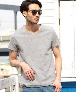 スパンフライスTシャツ