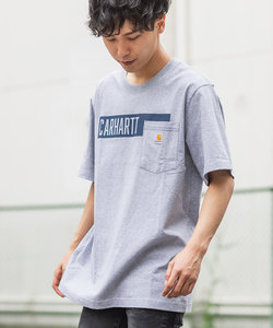 【CARHARTT】半袖プリントポケットTシャツ