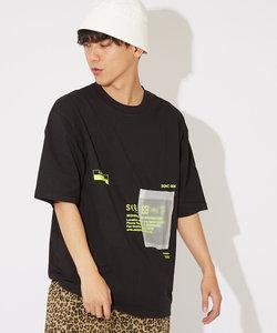 【Sequence】半袖PVCポケットTシャツ