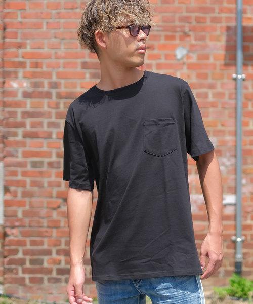 【FRUIT OF THE LOOM】半袖ヘビーウェイトコットンポケットTシャツ