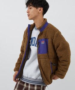 【BEN DAVIS】ソフトボアフリーススタンドジャケット