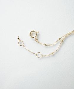 【anq.】K10 グリッターチェーン・ブレスレット