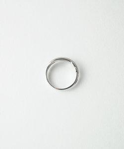 【anqanq.】K10ピンキーリング フェザー