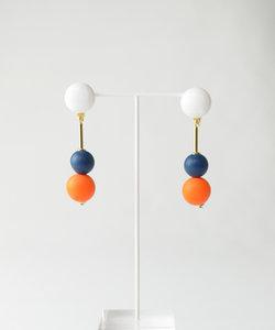 【Paris】カラーイヤリング