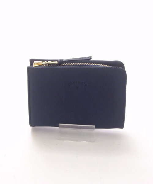 UNBILLION SELECT / 藍染馬革2つ折り財布