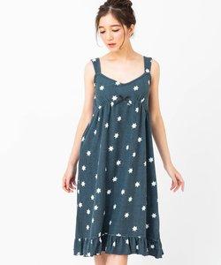 mochi pile モチパイル キャミワンピースボーダー・星柄