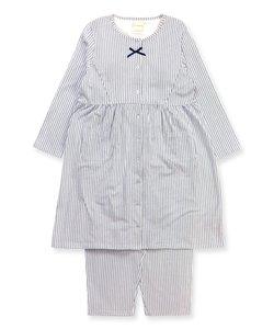 cotton-me 綿100%シリーズ マタニティーチュニック上下セット(無地・花柄・ストライプ)