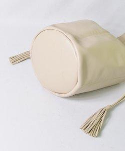 【CHRISTIAN VILLA】ワンハンドレザー丸底バッグ