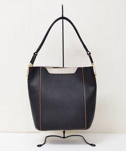 【SELECT BAG】フェイクレザー ハンドバッグ