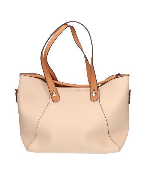 【SELECT BAG】取外しショルダーベルト付3way手提バッグ