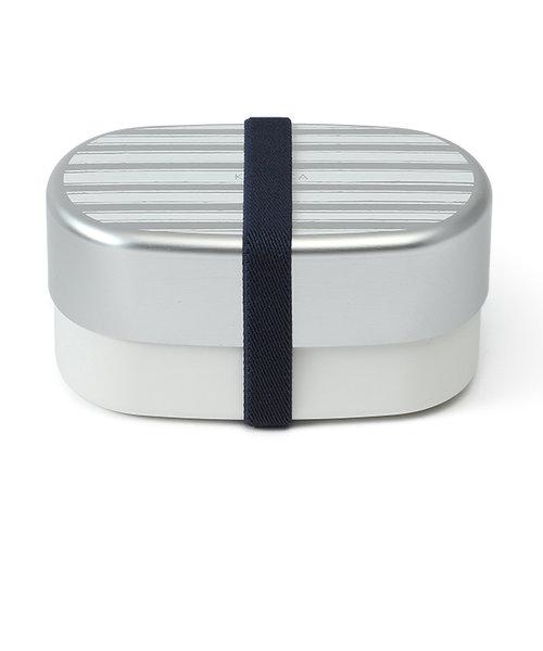 【特別価格】border オーバル 2段 ランチボックス お弁当箱