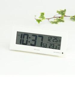 neom 電波クロック 目覚まし時計