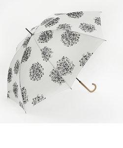 長傘 晴雨兼用 ブーケ アイボリー