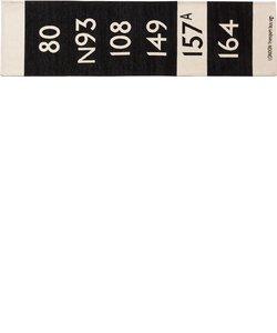 BUS STATION RUG KITCHEN MAT 50×180