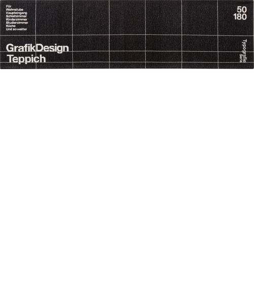 TYPOGRAPHY_[GRID] RUG 50×180