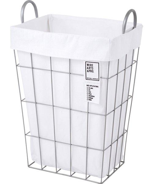 WIRE ARTS & PRO.laundry SQUARE BASKET_34L